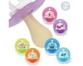 6 X 2er Packung Baby Nova Schnuller Beruhigungssauger Latex Runde Kirsch Form