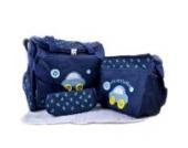 4tlg Babytasche Set Pflegetasche Tragetasche Wickeltasche Windeltasche Kinder Baby Blau
