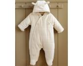 Bio Baby Schneeanzug Hase wattiert