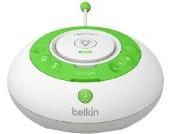 Belkin Baby 250 Digitales DECT-Babyphone mit Nachtlicht und Temperaturanzeige bis zu 300m Reichweite