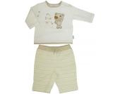 Liliput Langarmshirt mit Hose Teddy Gr. 62 (Creme-Beige) [Babykleidung]
