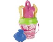 Ecoiffier Miss Beach Sandgarnitur (Rosa-Weiß) [Kinderspielzeug]