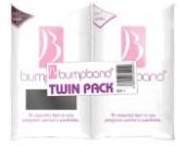 Bumpband Bauchband, Bandgröße 1, Konfektionsgröße 34-38, 1 x Schwarz/ 1 x Weiß