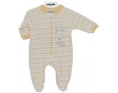 Jacky Schlafanzug Reindeer Gr. 56 (Gelb-Beige) [Babykleidung]