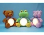 LED Kuscheltier mit Touchlampe und Farbwechsel, beruhigend - Bärchen