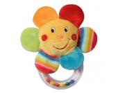 Baby Fehn 70`s Stripes Rassel Blume [Babyspielzeug]