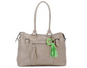 Little Company Wickeltasche Sophisticated Bag taupe - braun
