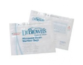 Dr. Brown's Microwave Steam Sterilizer Bags (2 Pack)