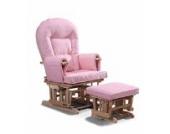 ROSA SUPREMO BAMBINO Stillen Sesselgleiter Gleitender Schwangerschaft Schaukelstuhl Mit GRATIS Fußhocker Und Schongezug