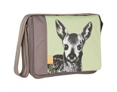 LÄSSIG Wickeltasche Casual Messenger Bag Fawn tarragon