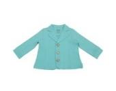 Bio - Blazer, Fleece Jacke, Jungen, verschiedene Farben und Größen (98, Türkis)
