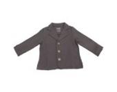Bio - Blazer, Fleece Jacke, Jungen, verschiedene Farben und Größen (110, Anthrazit)