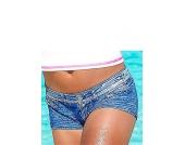 KangaROOS Hotpants in Jeans-Optik