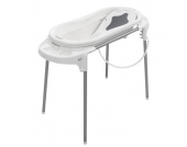 Rotho Babydesign Badestation TOP Xtra weiß