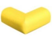 """Bigood Schreibtisch Kantenschutz Schützen Baby PUNBR Material Tischkante Kissen """"L"""" Muster dicker Gelb"""