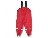 PLAYSHOES Girls Regenlatzhose rot