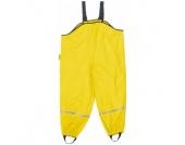 Playshoes Regenhose gelb mit Textilfutter - Unisex