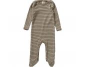Baby Schlafanzug Wolle/Seide Gr. 62/68