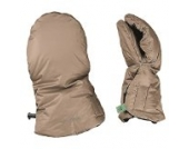 Odenwälder BabyNest Muffolo Handwärmer Handschuhe taupe 30050/970