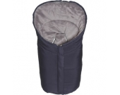 Winterfußsack Eiger Gr.0 - für Babyschale Polyester-Pongee marine - blau