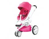 Quinny Kinderwagen Moodd Pink Passion - weißes Gestell