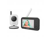 Techwin Babyphone mit Kamera und Nachtsicht-Funktion SEW-3040W, 245 m