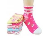 Luckystaryuan ® Set von 5 Mädchen Socken Frühling Herbst Schöne Socke Geschenk für Tochter (4-6years old, Bild 5)