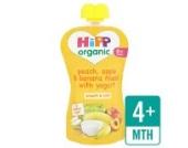 HiPP Bio-Pfirsich, Apfel und Banane Müsli mit Joghurt 100g