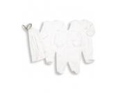 Essential One - Schlafanzuge/Schlafanzug/Einteiler/langarmeliger Body/ Strampler (3-er Pack mit Beutel) - 80/86 - ESS1