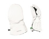 Odenwälder BabyNest Muffolo Handwärmer Handschuhe weiß 30050/100