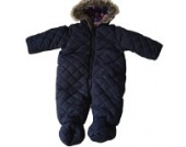hibote Baby Junge Schneeanzug Overall Kapuze Infant Winter Puffer Neugeborene Overall