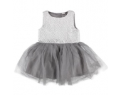 NAME IT Girls Mini Kleid NITPILUNA cloud dancer