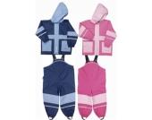 Regen-Anzug BASIC Regenjacke mit Regenhose / Tr�gerhose Gr��e 80-140