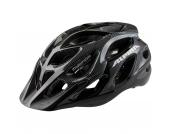 ALPINA Fahrradhelm Mythos Gr.57-62, black-white lines