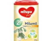 milupa milumil 2 Folgemilch Vanille 800 g