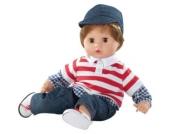 Babypuppe Muffin Junge, braune Haare, 33 cm