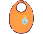 LÄSSIG Lätzchen waterproof medium Wildlife Birdie - orange