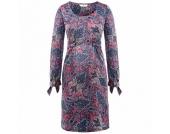 bellybutton Umstands Kleid ARDELIA winter rose/azur blue/white printed - bunt - Damen
