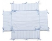 Laufgittereinlage | Nestchen | geeignet für Laufgitter mit der Größe: 100x75 cm | Farbwahl (blau/weiss)