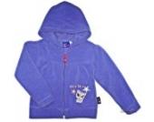 Hasbro Littlest Pet Shop Mädchen Sweatjacke/Fleecejacke/Sweatshirt,lila,Gr.104-108/ 5 Jahre