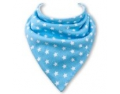 Baby Lätzchen BLUE STARS durch Babble Kids