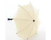 Lux4Kids Kinderwagen Sonnenschirm mit variablem Schwenkarm 21 Beige Creme