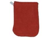 Kinder-Waschhandschuh kbA 3er-Set Cayenne Rot Popolini Waschlappen für Kinderhände