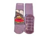 Weri Spezials Antirutsch ABS-Socken in Flieder, Gr.35-38 (9-10 Jahre), Die Reise in ein Mearchenland: Aschenputtel