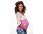 mama band 106-32 - Sterne Pink Gr. M (Gr.38-42) Bauchband Bauchbänder Bauchbinde