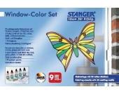Window Color Set Schmetterling