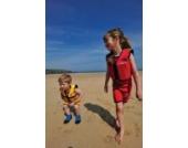 Kinder-Schwimmweste aus Neopren, Rot/Gelb Red/Yellow, Konfidence Jacket Größe: 12-16 kg (2-3 Jahre), Brustumfang 56 cm