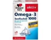 Doppelherz Omega-3 Seefischöl 1000mg